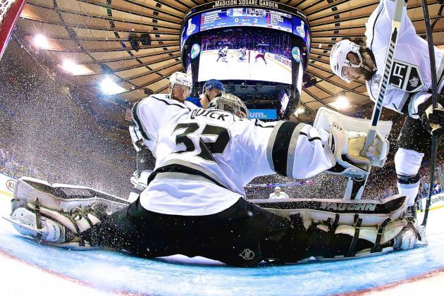 Stellar Jonathan Quick Stifles Rangers, Puts Kings on Verge of Stanley Cup Glory