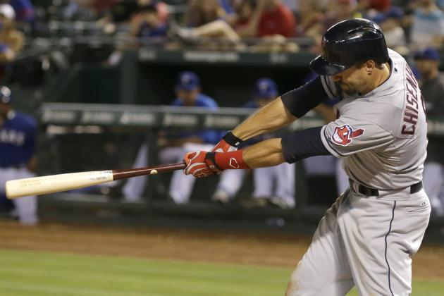 Indians' Lonnie Chisenhall Drives in 9 to Match Franchise Single-Game RBI Record