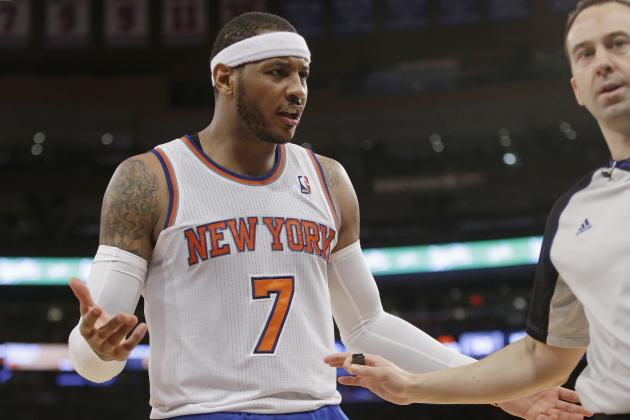 Is Carmelo Anthony Destined to Retire Ringless If Staying with NY Knicks?