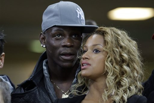 Mario Balotelli Engaged to Fanny Neguesha on Eve of 2014 World Cup