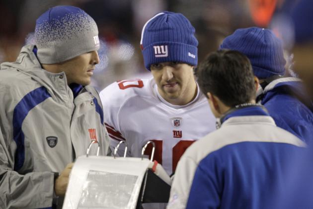 Eli Manning Healthy, Learning Giants Playbook at OTAs