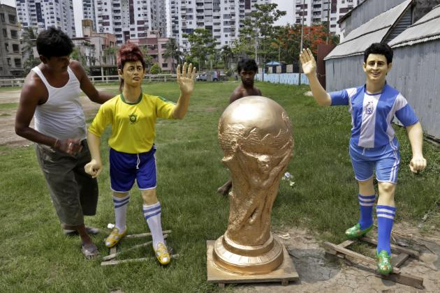 World Cup Fixtures 2014: Odds and Favorites for Each Group Match
