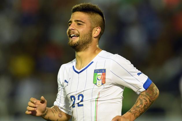 Lorenzo Insigne Worth €60-70m Says Napoli President Aurelio De Laurentiis