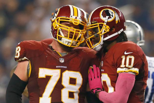 Redskins' Kory Lichtensteiger Confident as He Transitions Back to Center