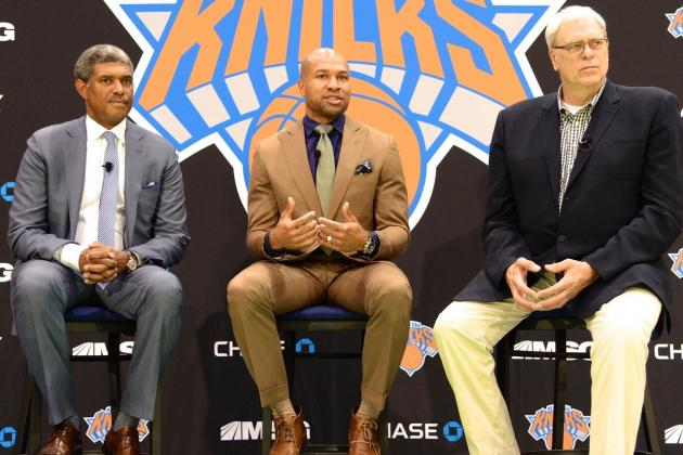 Top Takeaways from Derek Fisher's Introductory Press Conference with Knicks