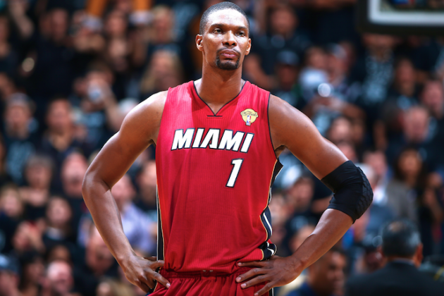 Miami Heat 'Fast 5': Chris Bosh's Quiet Intensity, Help for Mario Chalmers, More