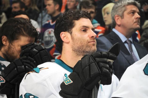 Sharks Hopeful to Re-Sign Forward Mike Brown