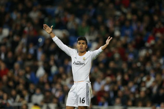 Real Madrid Transfer News: Casemiro Loan Move Would Be Shrewd Piece of Business