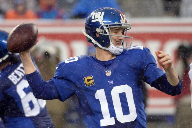 Manning Enjoying No-Holdout Offseason, Having All His Receivers Together