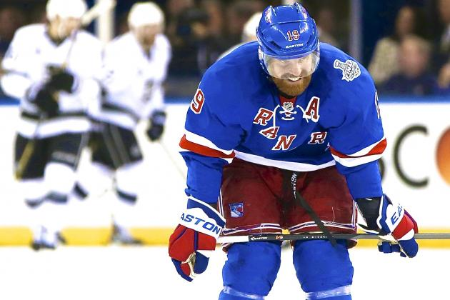 Brad Richards Needs to Do More If the Rangers Want to Extend Series with Kings
