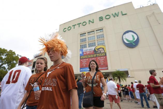 Texas, OU Red River Rivalry Game Will Remain at Cotton Bowl Through 2025