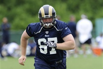 Rams' Jones Making Up for Lost Time