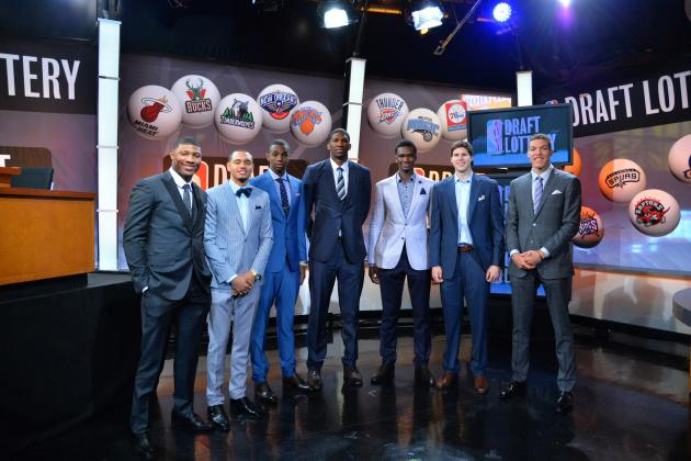 2014 NBA Mock Draft: Current Projections for Each 1st-Round Team