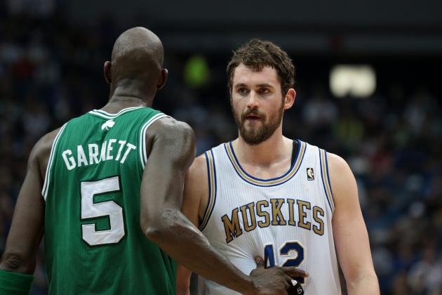 Will Timberwolves Get Better Deal for Kevin Love Than with Kevin Garnett?