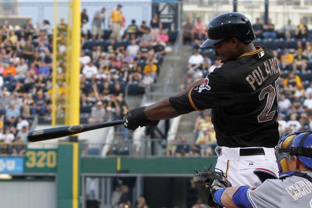 VIDEO: Gregory Polanco Singles in Second MLB at-Bat