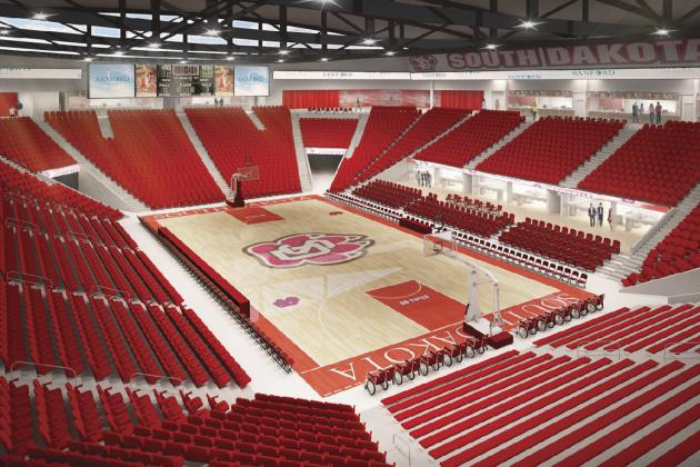Groundbreaking Next Week Makes USD Basketball Arena Project a Reality
