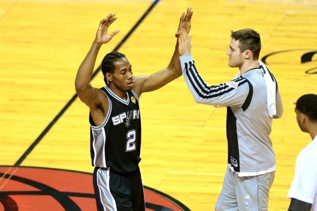 Spurs Set Finals Records for FG Percentage in 1st Quarter and 1st Half of Game 3
