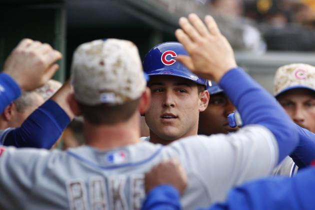 Rizzo's HR, Two Doubles Lead Cubs to 7-3 Win