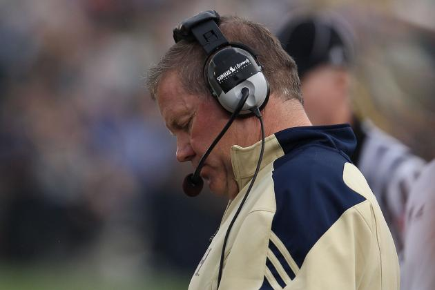Notre Dame Football Coach Brian Kelly Eager to Work with Players