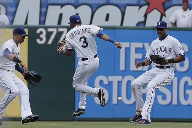 Rangers Error Three Times, Can't Stop Marlins During 8-5 Loss in Arlington