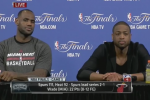 Heat Baffled by Reporter's Questions