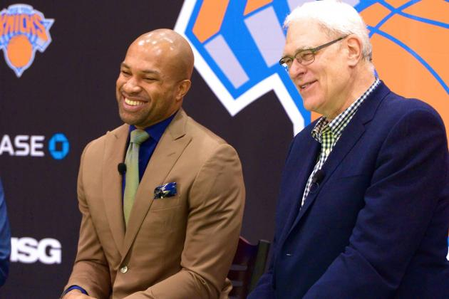 Phil Jackson May Hold Knicks' Strings, but Derek Fisher Not His Puppet Coach