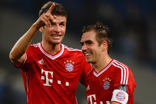 Thomas Muller and Philipp Lahm Officially Sign New Bayern Munich Contracts