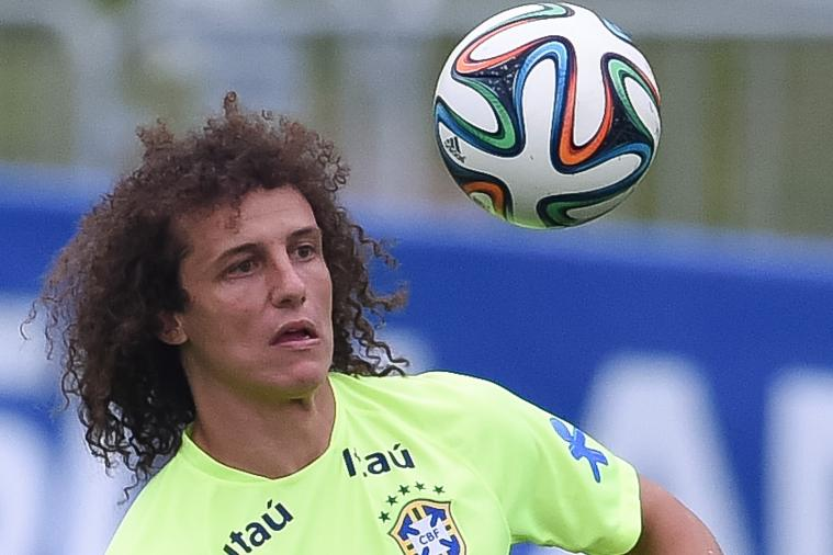 David Luiz Pictures with Hair Shaved Were a Cruel Hoax Before 2014 World Cup