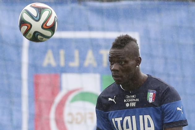 Why Mario Balotelli Is Under Most Pressure for Italy at the World Cup