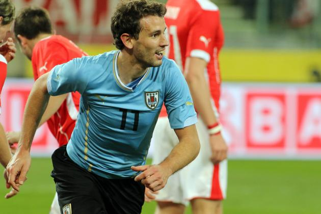 Uruguay Forward Christian Stuani on Luis Suarez, England and the World Cup