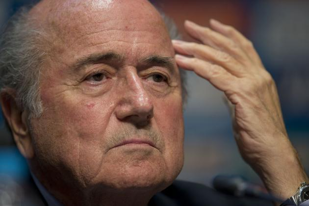 FIFA President Sepp Blatter Announces He Will Stand for Re-Election