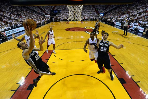 San Antonio Spurs Set NBA Finals Record 75.8% Shooting in the Finals Game 3