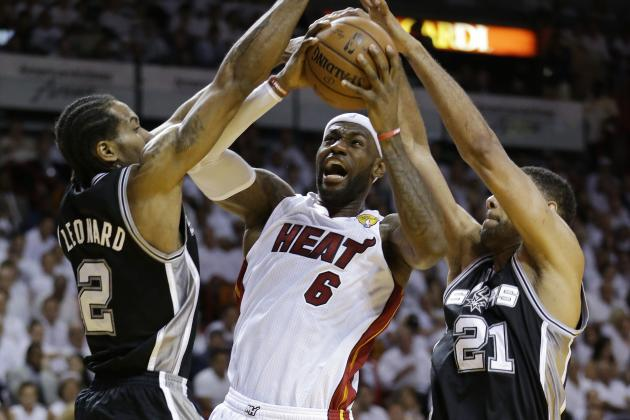 NBA Playoffs 2014: Updated Schedule and Odds for Heat vs. Spurs Game 4
