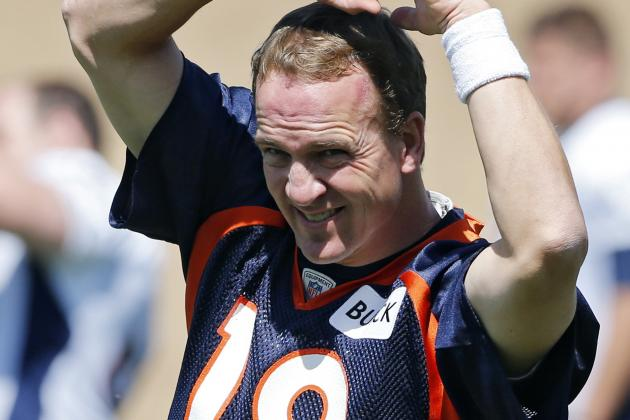 Broncos QB Peyton Manning's Accuracy Makes Him Who He Is: Tops in NFL