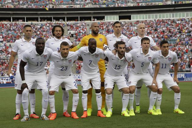 USA World Cup 2014: Schedule, Roster and Starting XI Predictions