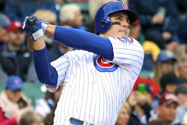 Cubs' Anthony Rizzo Emerging as One of NL's Best 1st Basemen in 2014