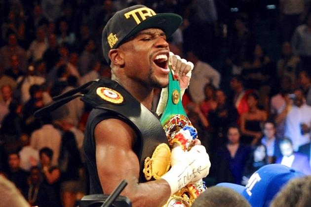 Floyd Mayweather Tops Forbes' 2014 List of Highest-Paid Athletes in World