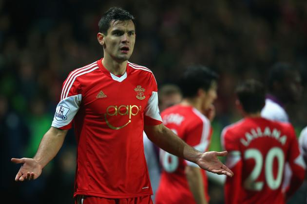 Dejan Lovren Transfer Rumours: Latest Gossip Surrounding Southampton Star