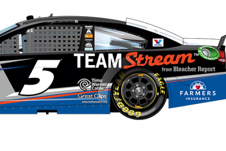 NASCAR Unveils New Paint Schemes for Select Drivers at Quicken Loans 400