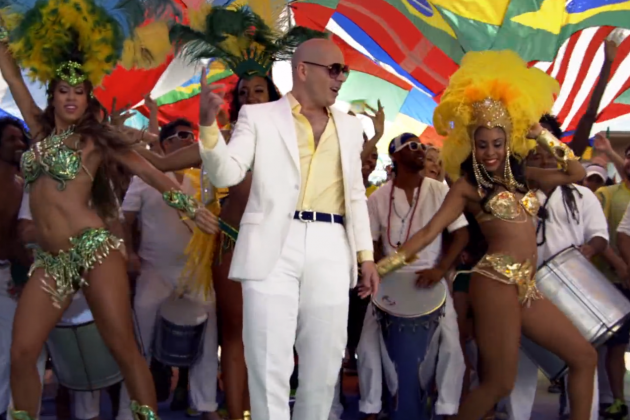 Brazilian Soccer Fans Not Happy with Pitbull's 2014 World Cup Theme Song