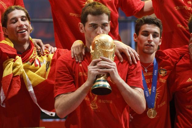 Midfield Overload and Other Reasons Why Spain Could Struggle to Retain World Cup