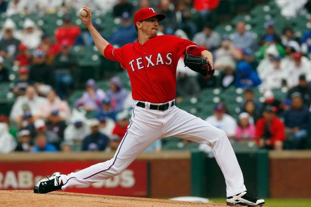 Rangers Place Scheppers (Elbow) Back on DL