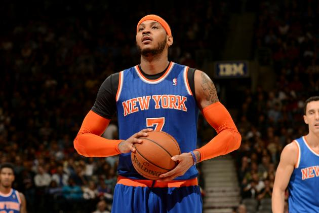Report: Phil Jackson Still Hoping Carmelo Anthony Opts In for 2014-15 Season