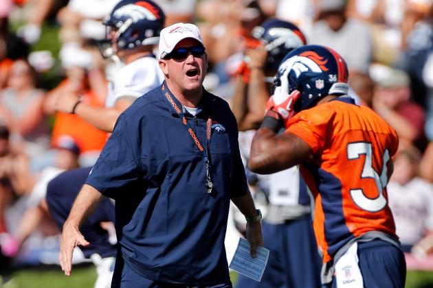 Broncos to Hold Joint Preseason Training Camps with Texans