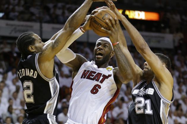 NBA Finals Schedule 2014: TV Info and Players to Watch in Spurs vs. Heat Game 4