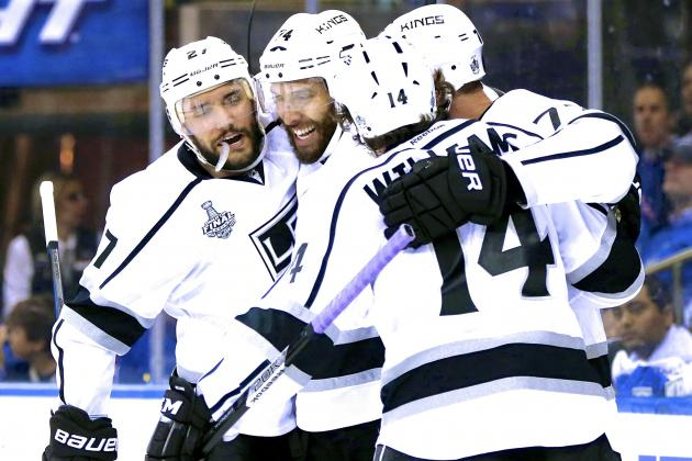 Los Angeles Kings vs. New York Rangers: Preview and Prediction for Game 4