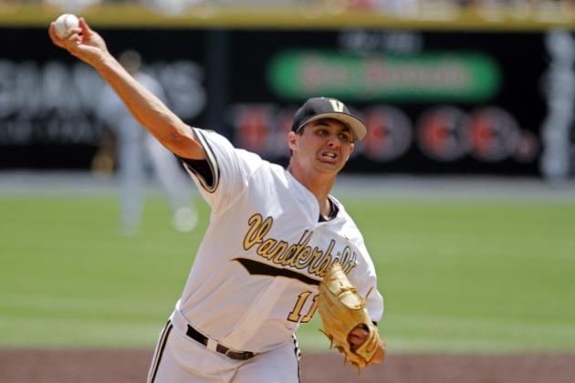 College World Series 2014: Viewing Info and Top Pitching Prospects to Watch