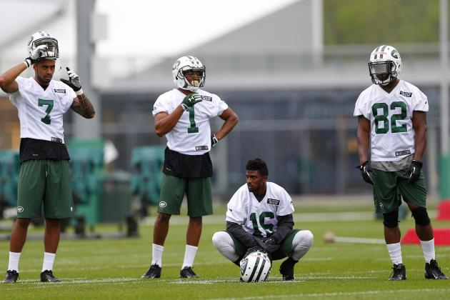 Breaking Down the New York Jets' Battle for No. 2 WR Spot
