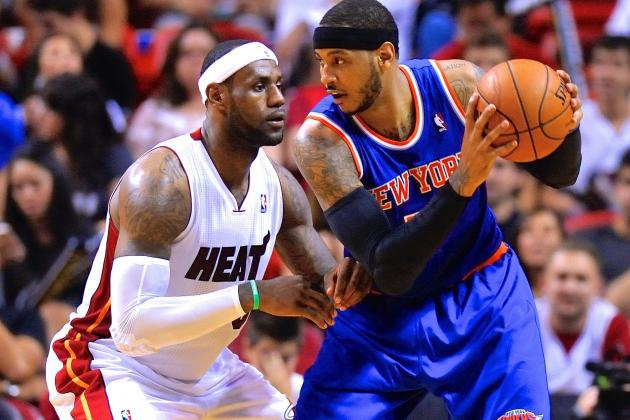 Report: Miami Heat Already Planning Free-Agent Run at Carmelo Anthony