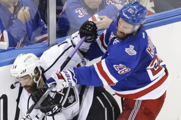 Stanley Cup 2014: Remaining Schedule and Prediction for Rangers vs. Kings Game 5